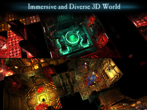 Screenshots of the Space Hulk game for iPhone, iPad or iPod.