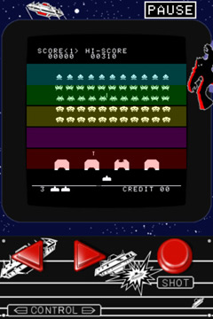 下载免费 iPhone、iPad 和 iPod 版Space Invaders。