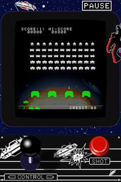 Игра Space Invaders для iPhone