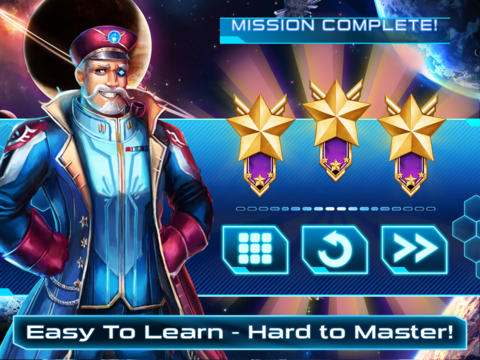 Capturas de pantalla del juego Space Laser – Pirates! Puzzles! Explosions! para iPhone, iPad o iPod.