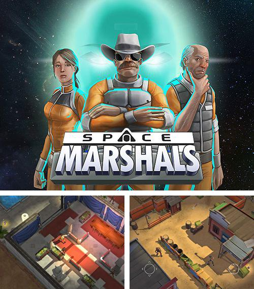 In addition to the game Bio Inc.: Biomedical plague for iPhone, iPad or iPod, you can also download Space marshals for free.