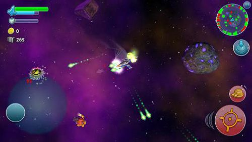 Screenshots of the Space miner: Wars game for iPhone, iPad or iPod.