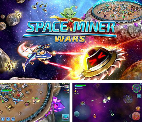 In addition to the game Cliffed for iPhone, iPad or iPod, you can also download Space miner: Wars for free.