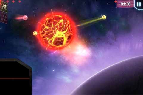 Screenshots of the Space op! game for iPhone, iPad or iPod.