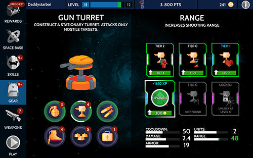 Capturas de pantalla del juego Space pioneer para iPhone, iPad o iPod.