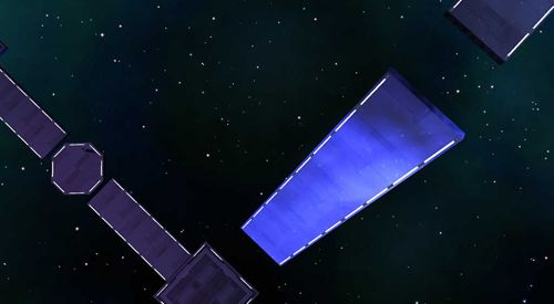 Screenshots of the Space platform game for iPhone, iPad or iPod.