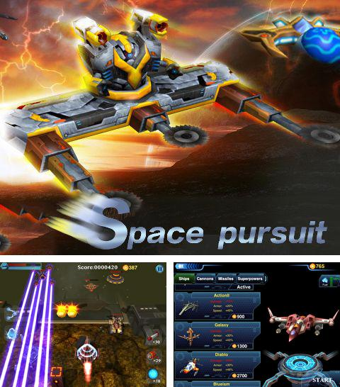 In addition to the game Speedway GP 2012 for iPhone, iPad or iPod, you can also download Space pursuit for free.