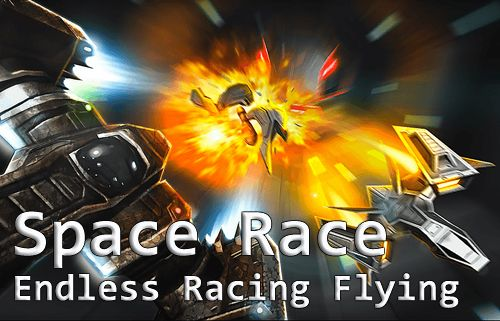 Space race: Endless racing flying