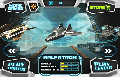 Space race: Endless racing flying iPhone game - free