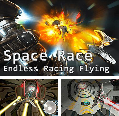En plus du jeu Zombis: Morts à 20 pour iPhone, iPad ou iPod, vous pouvez aussi télécharger gratuitement Course spatiale: Vol infini , Space race: Endless racing flying.