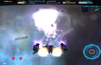 Descarga gratuita de Space Rage para iPhone, iPad y iPod.
