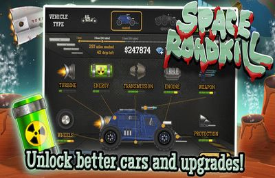 Descarga gratuita de Space Roadkill para iPhone, iPad y iPod.