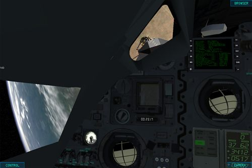 Download Space simulator iPhone free game.