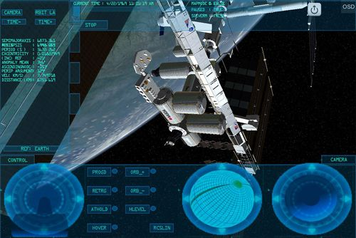 Descarga gratuita de Space simulator para iPhone, iPad y iPod.