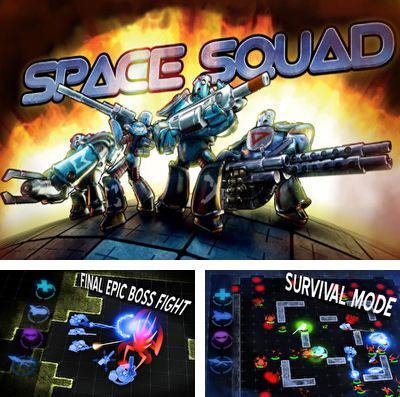 In addition to the game Epic adventures: Cursed onboard for iPhone, iPad or iPod, you can also download Space Squad for free.