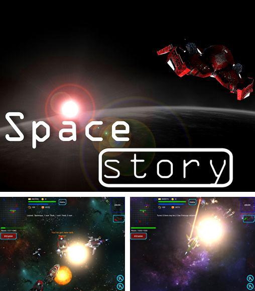 In addition to the game Anomaly Warzone Earth for iPhone, iPad or iPod, you can also download Space story for free.