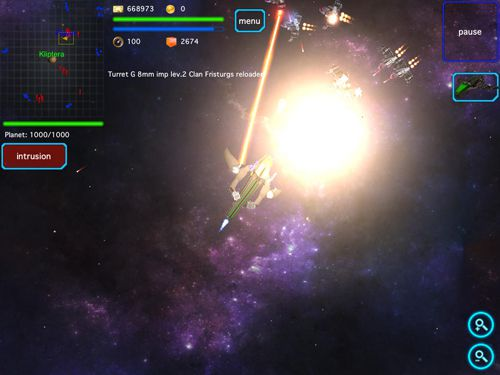 Capturas de pantalla del juego Space story: Alliance para iPhone, iPad o iPod.