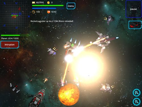 Screenshots of the Space story: Alliance game for iPhone, iPad or iPod.