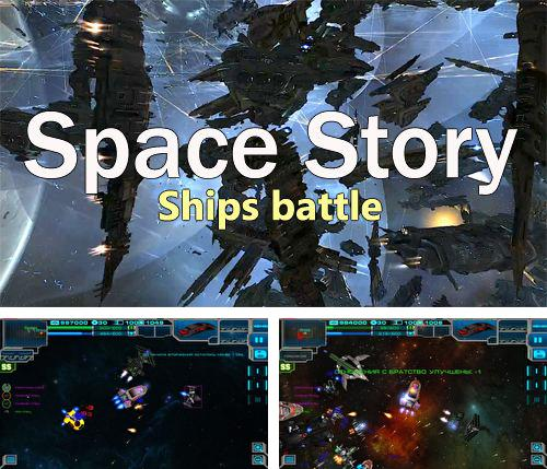 In addition to the game Sushi fight for iPhone, iPad or iPod, you can also download Space story: Ships battle for free.