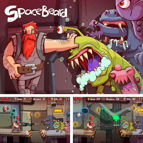 In addition to the game Tanks battalion: Blitz for iPhone, iPad or iPod, you can also download Spacebeard for free.