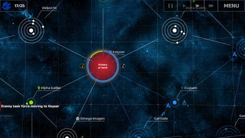 Screenshots of the Spacecom game for iPhone, iPad or iPod.