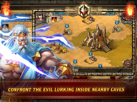 Screenshots vom Spiel Spartan Wars: Elite Edition für iPhone, iPad oder iPod.