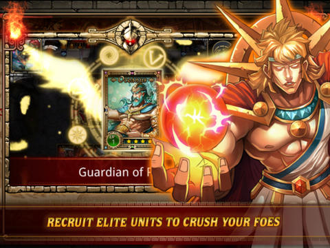 iPhone、iPad 或 iPod 版Spartan Wars: Elite Edition游戏截图。
