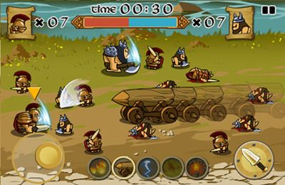 Download Spartans vs Vikings iPhone free game.