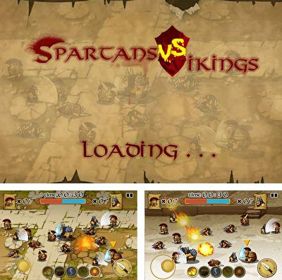 In addition to the game Trickster for iPhone, iPad or iPod, you can also download Spartans vs Vikings for free.