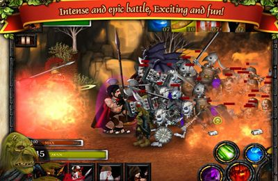Скачать игру Spartans vs Zombies Defense для iPad.