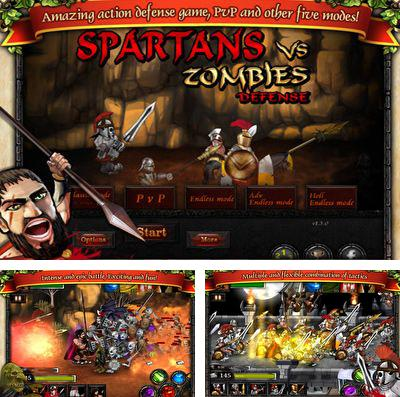 En plus du jeu Guerre dans Block city pour iPhone, iPad ou iPod, vous pouvez aussi télécharger gratuitement Les Spartiates contre les Zombies, Spartans vs Zombies Defense.