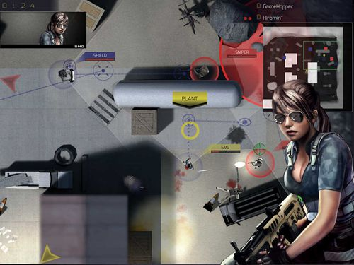 Capturas de pantalla del juego Special tactics: Online para iPhone, iPad o iPod.