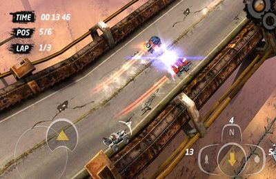 Screenshots vom Spiel Speed Kills für iPhone, iPad oder iPod.