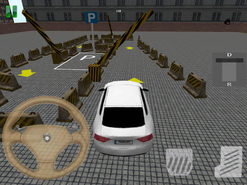 Download Speed Parking 3D iPhone free game.
