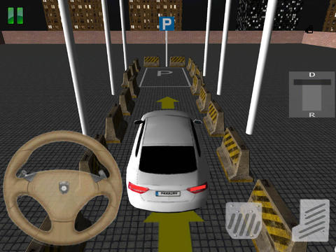 Screenshots of the Speed Parking 3D game for iPhone, iPad or iPod.