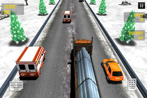Descarga gratuita de Speed race para iPhone, iPad y iPod.