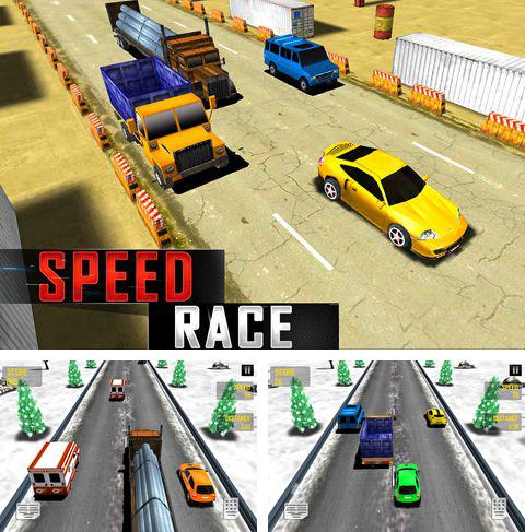 In addition to the game Chaos Rings for iPhone, iPad or iPod, you can also download Speed race for free.