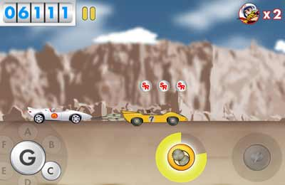 Écrans du jeu Speed Racer: The Beginning pour iPhone, iPad ou iPod.