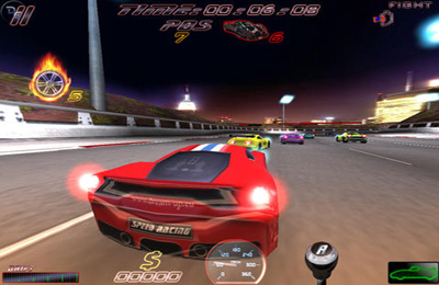 Écrans du jeu Speed Racing Ultimate pour iPhone, iPad ou iPod.