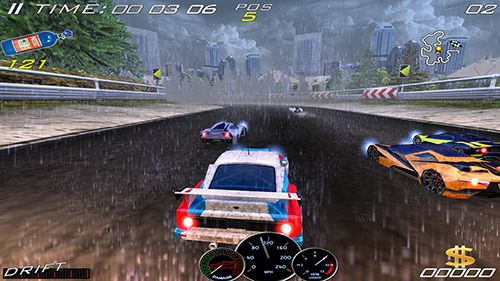 Download Speed racing ultimate 4 iPhone free game.