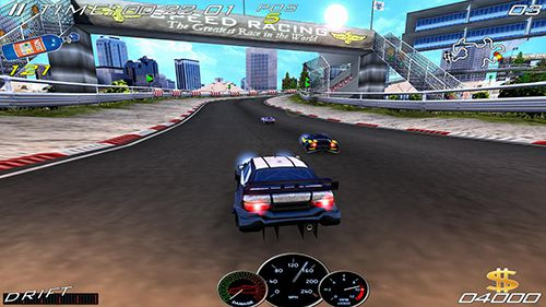 Free Speed racing ultimate 4 download for iPhone, iPad and iPod.