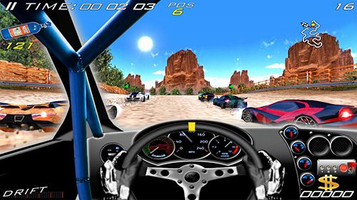 Screenshots of the Speed racing ultimate 4 game for iPhone, iPad or iPod.