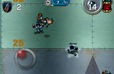 Descarga gratuita de Speedball 2 Evolution para iPhone, iPad y iPod.