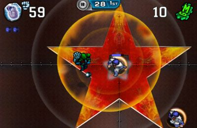 Screenshots vom Spiel Speedball 2 Evolution für iPhone, iPad oder iPod.