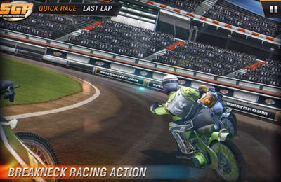 Screenshots of the Speedway GP 2011 game for iPhone, iPad or iPod.