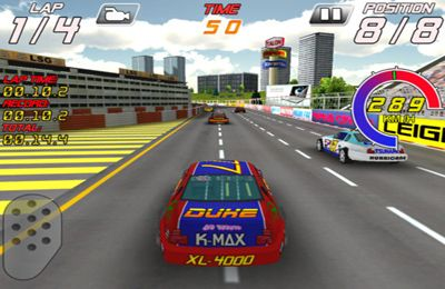 Download Speedway Racers iPhone free game.