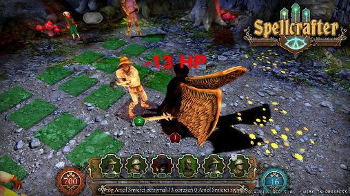 Écrans du jeu Spellcrafter: The path of magic pour iPhone, iPad ou iPod.