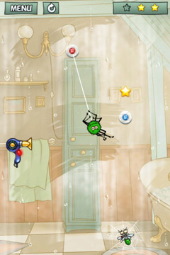 Capturas de pantalla del juego Spider Jack para iPhone, iPad o iPod.