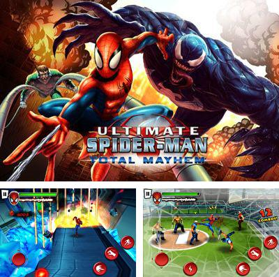 En plus du jeu Bataille des flèches pour iPhone, iPad ou iPod, vous pouvez aussi télécharger gratuitement Spiderman.Le chaos Universel, Spider-Man Total Mayhem.