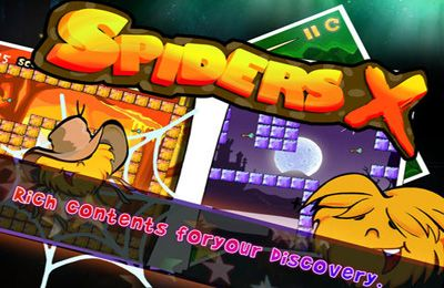 Download Spiders X iPhone free game.